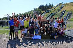 Sommerhoppskole Midtstulia 11-15 aug 2014